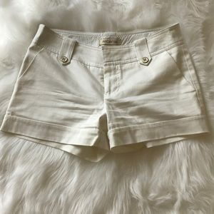 White shorts. never worn. Arden B